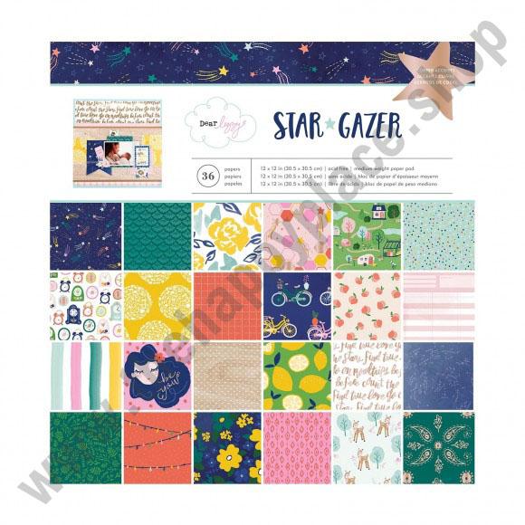 American Crafts Dear Lizzy paper pad 30,5x30,5cm x36