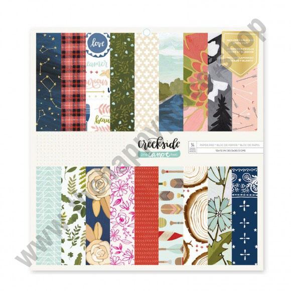 American craft Creekside paper pad 30,5x30,5cm x36