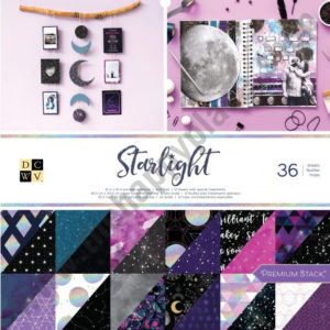 American crafts • DCWV 30,5x30,5cm x36 Starlight