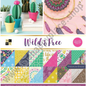 American crafts • DCWV 30,5x30,5cm x36 wild and free