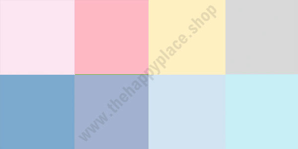 Double-sided scrapbooking paper set Backgrounds 8 1